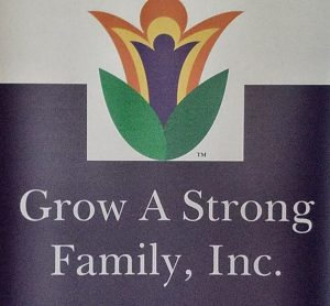 Photo of logo and Grow a Strong Family
