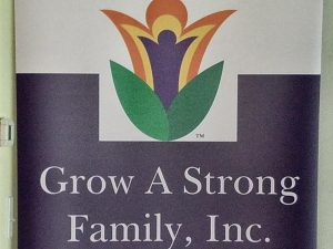 Logo of people in plant